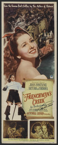"Movie Posters:Adventure, Frenchman's Creek (Paramount, 1944). Insert (14"" X 36""). Adventure.Starring Joan Fontanel, Arturo deCordova, Basil Rathbone..."