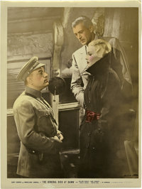 """The General Died at Dawn Stills (Paramount, 1936). Color-Glos Stills (7) (10.5"""" X 14""""). ... (Total: 7 Items)"""