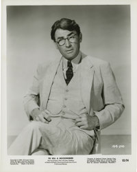 "Gregory Peck in ""To Kill a Mockingbird"" (Universal, 1963). Stills (31) (8"" X 10""). ... (Total: 31 It..."