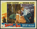 "Movie Posters:Adventure, Souls at Sea (Paramount, 1937). Lobby Card (11"" X 14""). Adventure....."
