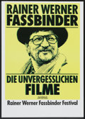 "Movie Posters:Documentary, Fassbinder Festival (1990s). German A1 (23"" X 33""). Festival.. ..."
