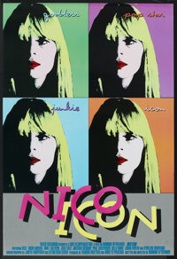 "Nico Icon (Roxie Releasing, 1995). British One Sheet (27"" X 40""). Documentary"