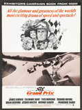 "Movie Posters:Sports, Grand Prix (MGM, 1967). Pressbook (14"" X 19"") (Multiple Pages). Sports.. ..."