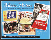 """Movie Posters:75 Years of Academy Award Winners (Schiffer Publishing, 2002 ). Book (Multiple Pages, (8.75"""" X 11.5&q..."""