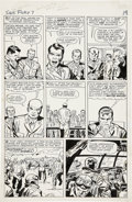 Original Comic Art:Panel Pages, Jack Kirby and George Roussos Sgt. Fury #7, page 15 OriginalArt (Marvel, 1964). . ...