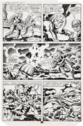 Original Comic Art:Panel Pages, Jack Kirby and Mike Thibodeaux Captain Victory and the Galactic Rangers #5, page 13 Original Art (Pacific, 1982)....