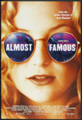 "Movie Posters:Drama, Almost Famous (Columbia, 2000). One Sheet (27"" X 39"") DS. Drama.. ..."