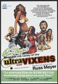 "Beneath the Valley of the Ultra-Vixens (Sinfonia, 1979). French Poster (15.75"" X 22.75""). Adult"