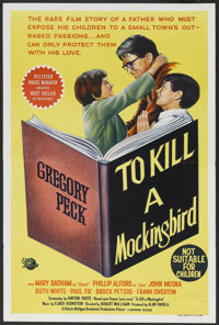 "To Kill a Mockingbird (Universal International, 1963). Australian One Sheet (27"" X 40""). Drama"