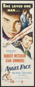 "Movie Posters:Film Noir, Angel Face (RKO, 1953). Insert (14"" X 36""). Film Noir.. ..."