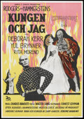 "Movie Posters:Musical, The King and I (20th Century Fox, 1956). Swedish One Sheet (27.5"" X 39.5""). Musical.. ..."