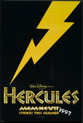 "Movie Posters:Animated, Hercules (Buena Vista, 1997). One Sheet (27"" X 40"") DS Advance.Animated.. ..."