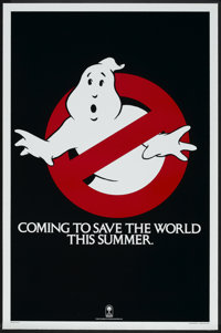 """Ghostbusters (Columbia, 1984). One Sheet (27"""" X 41"""") Advance. Comedy"""