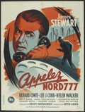 "Movie Posters:Film Noir, Call Northside 777 (20th Century Fox, 1948). French Grande (47"" X63"") Style A. Film Noir.. ..."