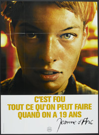 "The Messenger: The Story of Joan of Arc (Gaumont, 1999). French Grande (45.5"" X 62""). Drama"