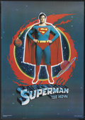 """Movie Posters:Action, Superman the Movie (Warner Brothers, 1978). Scottish Poster (22.5""""X 32.5"""")Action.. ..."""