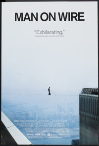 """Man on Wire (Magnolia Pictures, 2008). One Sheet (27"""" X 40"""" DS). Documentary"""
