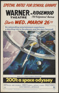 """Movie Posters:Science Fiction, 2001: A Space Odyssey (MGM, 1968). Window Card (14"""" X 22""""). Science Fiction.. ..."""