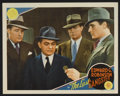 "Movie Posters:Crime, The Last Gangster (MGM, 1937). Lobby Card (11"" X 14""). Crime.. ..."