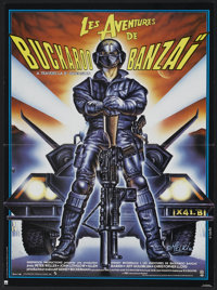 "The Adventures of Buckaroo Banzai Across the 8th Dimension (PSO, 1984). French Poster (15"" X 20.5""). Science F..."