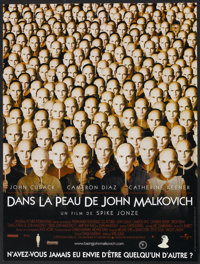 "Being John Malkovich (Universal, 1999). French Poster (15.5"" X 20.5""). Comedy"