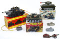 Antiques:Toys, Lot of Six Tanks.... (Total: 6 Items)