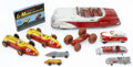 Antiques:Toys, Lot of Nine Vintage Toy Automobiles.... (Total: 10 Items)