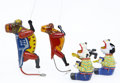 Antiques:Toys, Lot of Four Tin Litho Toys.... (Total: 4 Items)