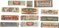 Advertising:Paper Items, Large Collection of Vintage Gum Wrappers, Packs, Advertising....(Total: 70 Items)