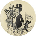 Political:Pinback Buttons (1896-present), Theodore Roosevelt: The Classic Clifford Berryman Teddy Bear ButtonDesign. ...