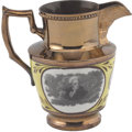Political:3D & Other Display (pre-1896), Andrew Jackson: A Very Choice Example of the Popular Copper Lustre Pitcher....
