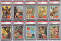 "Non-Sport Cards:General, 1966 Philadelphia Gum ""Tarzan"" High Grade Complete Set (66). ..."
