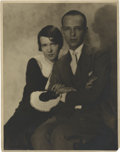 "Movie Posters:Musical, Fred and Adele Astaire in ""Smiles"" Publicity Stills by Hal Phyfe(1930). Stills (2) (11"" X 14"").. ... (Total: 2 Items)"