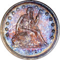 Proof Seated Quarters, 1862 25C PR64 PCGS....