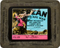 "Movie Posters:Adventure, Tarzan of the Apes (First National, 1918). Glass Slide (4"" X 3.5"")and Tarzan the Ape Man (MGM, 1932). Glass Slide (4"" X... (Total: 3Items)"