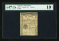 Colonial Notes:Vermont, Vermont February 1781 1s PMG Net Very Good 10....
