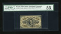 Fractional Currency:Third Issue, Fr. 1253 10c Third Issue PMG About Uncirculated 55....