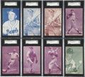 Baseball Cards:Lots, 1953 Canadian Exhibits Collection (85) - Including Near Set(59/64). ...