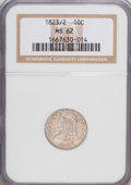 Bust Dimes: , 1823/2 10C Small Es MS62 NGC. NGC Census: (8/36). PCGS Population(5/14). Mintage: 440,000. Numismedia Wsl. Price for NGC/P...