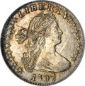 Early Half Dimes, 1797 H10C 16 Stars MS64 NGC....