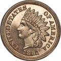 Proof Indian Cents, 1864 1C Copper Nickel PR65 Ultra Cameo NGC....