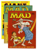 Magazines:Mad, Mad Magazine Group (EC, 1958-74) Condition: Average VG.... (Total:26 Comic Books)
