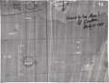 Explorers:Space Exploration, Apollo 15 Flown Lunar Map Originally from the Personal Collectionof Mission Commander Dave Scott, Certified and Signed by Mis...
