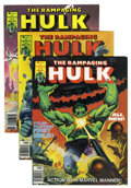 Magazines:Superhero, The Rampaging Hulk/The Hulk Magazine #1-27 Group (Marvel, 1977-81)Condition: Average VF+.... (Total: 27 Comic Books)