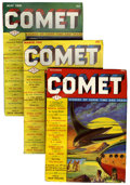 Pulps:Science Fiction, Comet Group (H-K Publications, 1940-41) Condition: AverageVG/FN.... (Total: 4 Items)
