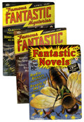 Pulps:Science Fiction, Fantastic Novels/Famous Fantastic Mysteries Pulp Group (New Publications, 1941-48) Condition: Average FN-.... (Total: 10 Items)