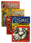 Pulps:Science Fiction, Cosmic Science-Fiction Group (Albing Publications, 1941) Condition:Average FN.... (Total: 3 Items)
