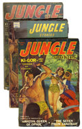 Pulps:Adventure, Jungle Stories Group (Fiction House, 1943-54) Condition: AverageVG.... (Total: 6 Comic Books)