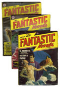 Pulps:Science Fiction, Fantastic Novels Magazine Group (New Publications, 1948-51)Condition: Average VG.... (Total: 8 Comic Books)