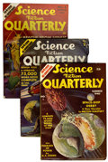 Pulps:Science Fiction, Science Fiction Quarterly #1-9 Group (Blue Ribbon Magazines,1940-43).... (Total: 9 Items)